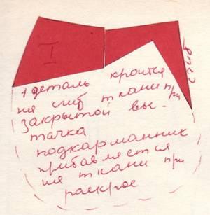 крой юбки фантазия