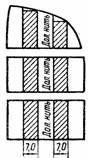 раздг чертежа выкройки юбки со сложными подрезами
