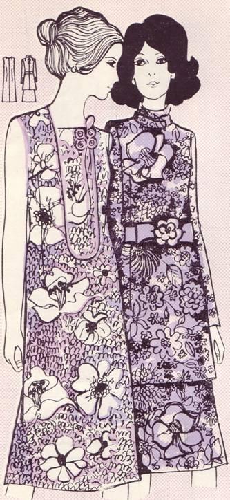 Платье цельнокроенное из шелковой ткани