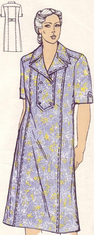 Размер рельефами выкройка с платья 60