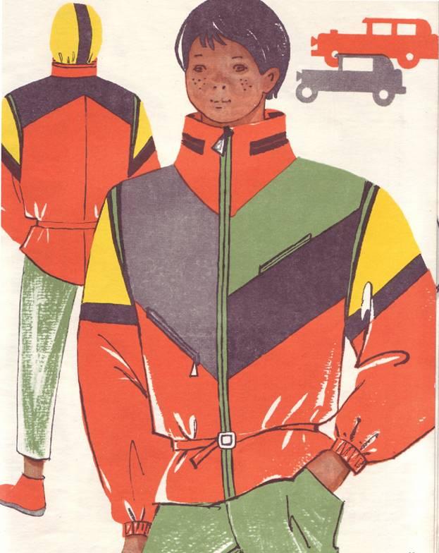 Спортивный комплект для мальчик-подростка выкройка