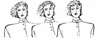 фасоны воротников- стоек