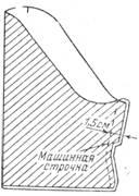 обработка короткого рукава