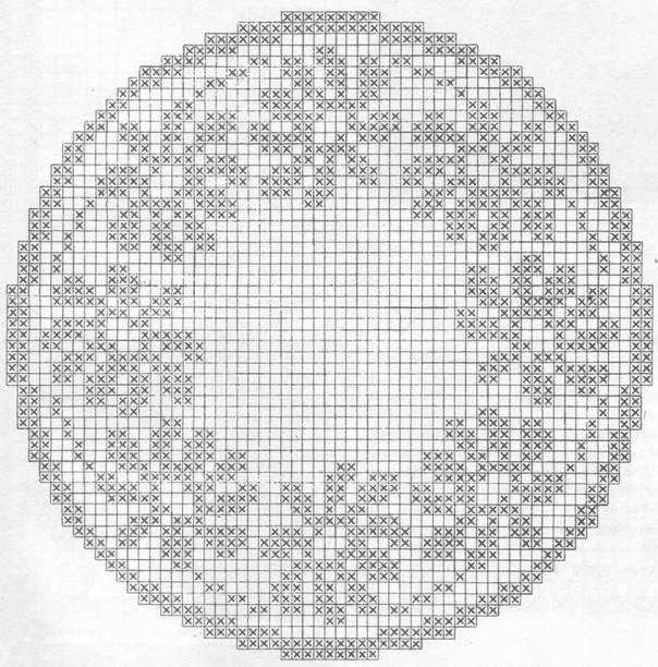 Схемы цветов для филейного