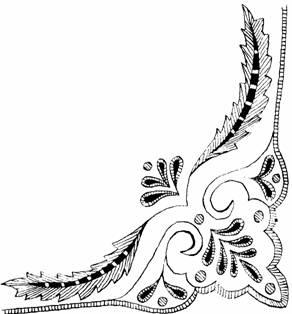 Рисунки для вышивки блузок