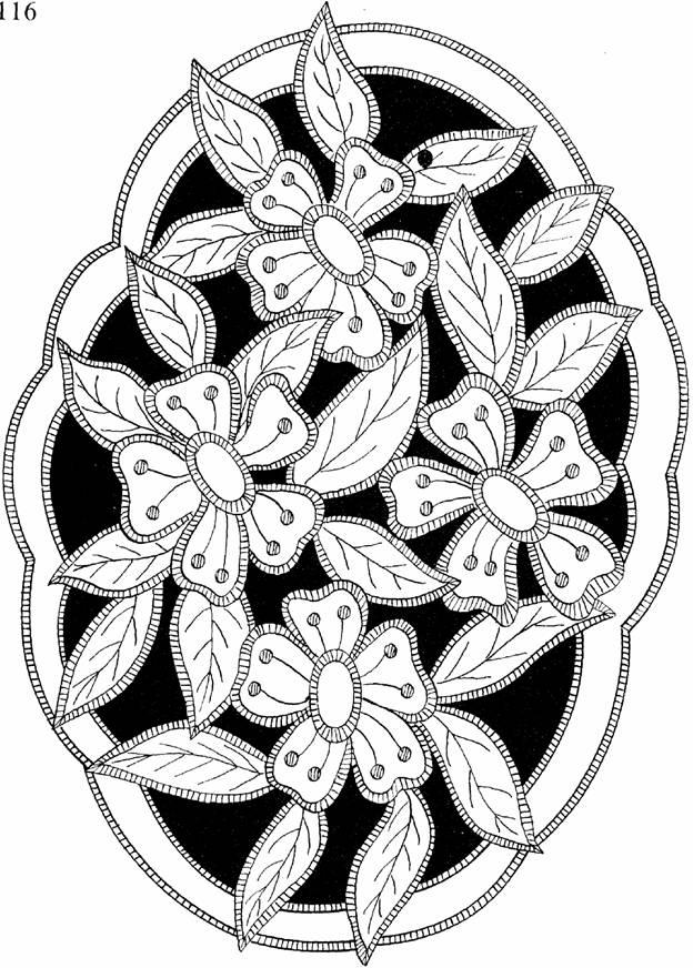 Вышивка схемы для вышивки ришелье 543