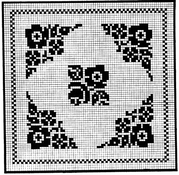 вышивка крестом золотое руно