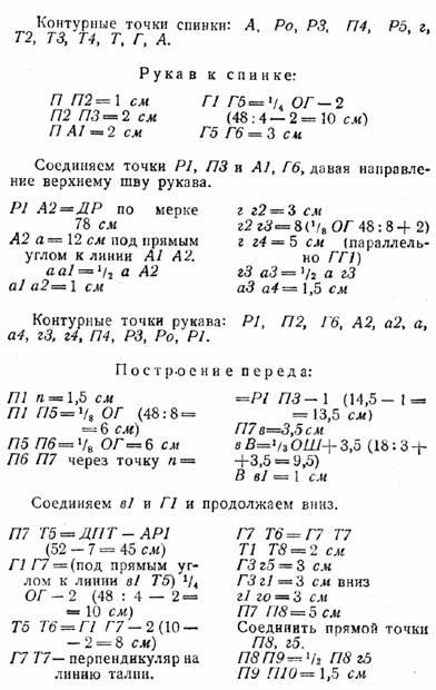 украинская форма лифа реглан