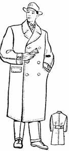 пошив мужского демисезонного пальто