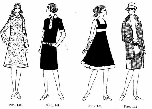 Отделка легкого платья