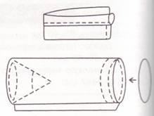 Выкройка подушки валик своими руками выкройки