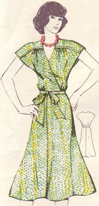 Выкройка шелкового летнего платья