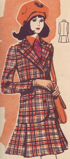 выкройка женского костюма строгого классического стиля