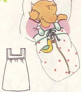 конверт для новорожденного с застежкой-молнией